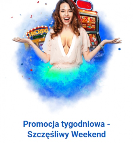 Weekendowy bonus do 425 PLN w Slottica